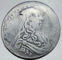 MONACO LOUIS Ier 5 Sols 1663 Très Rare - 1505-1795 From Lucien Ier To Honoré III
