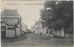 86 VIENNE CHATELLERAULT RUE CHATEAU EAU  JOLI PLAN - Chatellerault