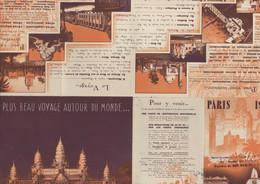 Plan Et Programme Exposition Coloniale Internationale Paris 1931 Colonies Françaises Empire Colonial - Other Plans