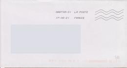 Toshiba 08870A-01 La Poste En 1ère Ligne Et France En Seconde (présentation Inversée à La Précédente) Voir Scans) - Mechanical Postmarks (Other)