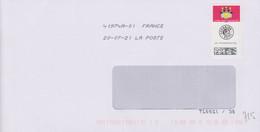 Toshiba 41974A-01 Tronquée (sans Lignes Ondulées Ou Signes Inf Et Sup) Pour éviter L'altération Du QR Code - Mechanical Postmarks (Other)