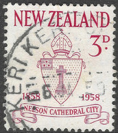 New Zealand. 1958 Centenary Of City Of Nelson. 3d Used. SG 767 - Used Stamps