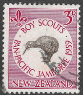 New Zealand. 1959 Pan-Pacific Scout Jamboree, Auckland. 3d Used. SG 771 - Used Stamps