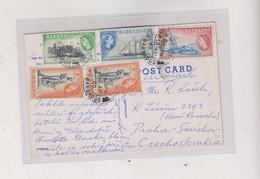 BARBADOS,1960 Nice Postcard To Czechoslovakia - Barbados (...-1966)