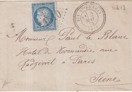 "FRANCE : GC 1510 . "" FIX ST GENEYS "" . ( 41) . N° 60 .1872 . - 1849-1876: Klassieke Periode"