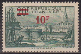 Saint Malo - FRANCE - 1940 - N° 492 ** - Neufs