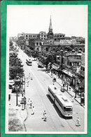 "Calcutta (India) Dharamtolla Street 2scans Tramway ""Photo Atelier"" - India"