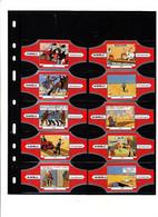 10 Bagues De Cigares Tintin En état Neuf - Anelli Da Sigari