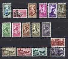 GUINEA ** 342/357 En Nuevo Sin Charnela. Cat.30,85 € - Guinea Española