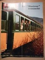 Vie Du Rail 1246 1970 Le Mastrou Lamastre Viaduc Souleuvre Salvador Dali Liege Guillemins  Longdoz Flémalle Salzbourg - Trains