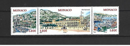 Timbre Monaco Neuf ** N 2518 / 2520 Vendu Au Prix De La Poste - Nuovi
