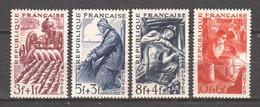 France 1949 Mi 834-837 MNH - Unused Stamps