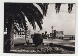 Taranto, Hotel Palace , Via Virgilio - Cartolina Viaggiata  24/2/1958 - (563) - Taranto