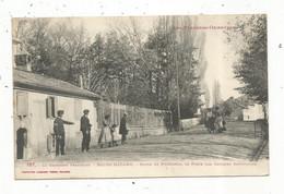 Cp , 66 , BOURG MADAME ,route De PUIGCERDA , Le Poste Des Douanes Espagnoles ,  Vierge - Other Municipalities