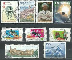 France N° 4325 - 4337 à 4340 - 4348 - 4350 - 4352 - 4354   Obl. - Used Stamps