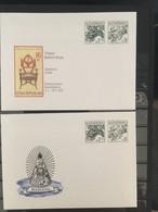 SLOVENSKO :  10 Postcards 10sk As Pictured   NEW - Postkaarten