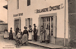 CPA De GARNERANS - Maison BERTHIER. - Other Municipalities