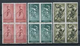 Guinea Española 1959. Edifil 395-97 X 4 ** MNH. - Guinea Española