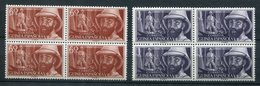 Guinea Española 1955. Edifil 342-43 X 4 ** MNH. - Guinea Española