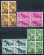 Guinea Española 1957. Edifil 369-72 X 4 ** MNH. - Guinea Española