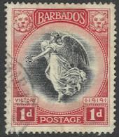 Barbados. 1920-1 Victory. 1d Used. SG 203 - Barbados (...-1966)