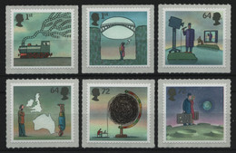 Großbritannien 2007 - Mi-Nr. 2502-2507 ** - MNH - Erfindungen / Inventions - Ungebraucht