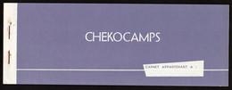 Chèques D'Algérie Fse. Guerre D'Algérie 1954/1962. Armée Française. RARE Carnet Complet De 10 Chèques...... - Chèques & Chèques De Voyage