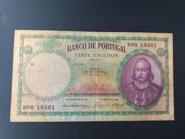 PORTUGAL 20 ESCUDOS 1941 - Portugal