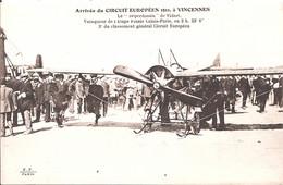 CPA - Arrivée Du Circuit Européen 1911 à Vincennes - Le Deperdussin De Vidart - ....-1914: Voorlopers
