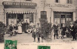 CPA De LA PALLICE - Café De La Passerelle. - Other Municipalities