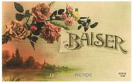 48  UN  BAISER   DE  MENDE   CPM  TBE   506 - Mende