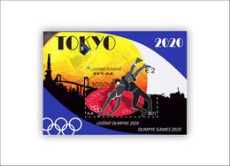 Kosovo Stamps 2021. Olympic Games: Tokyo 2020. Block MNH - Kosovo
