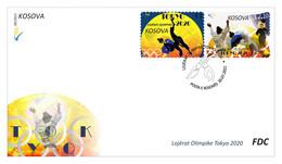 Kosovo Stamps 2021. Olympic Games: Tokyo 2020. FDC Set MNH - Kosovo