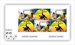 Kosovo Stamps 2021. Olympic Games: Tokyo 2020. Mini Sheet MNH - Kosovo
