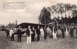 CPA De SAVIGNY-AVIATION. - Airmen, Fliers