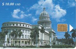 Nº 147 TARJETA DE CUBA DE EL CAPITOLIO NACIONAL - Cuba
