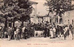 CPA De MANE - Le Marché Aux Veaux. - Other Municipalities