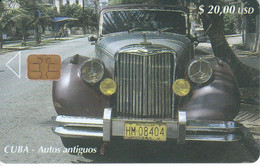 Nº 172 TARJETA DE CUBA DE UN COCHE ANTIGUO (CAR) - Cuba