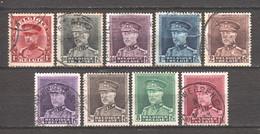 Belgium 1931 Mi 305-313 Canceled - Used Stamps