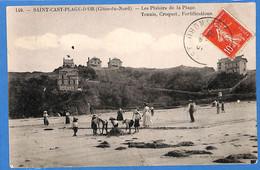 22 - Côtes D'Armor -    Saint Cast Plage D'Or - Les Plaisirs De La Plagelage - Tennis - Croquet - Fortifications (N5499) - Saint-Cast-le-Guildo
