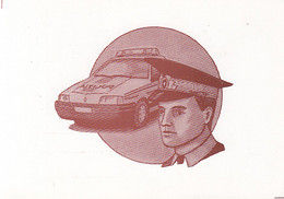 97361- CAR, POLICE OFFICER, PROFESIONS - Police - Gendarmerie