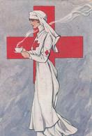 Illustratori - Golia - Crocerossina - F. Piccolo - Viagg - Molto Bella - Altre Illustrazioni