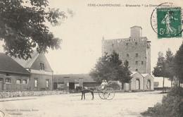 51 - FERE-CHAMPENOISE - BIERE - BRASSERIE - LA CHAMPENOISE - ATTELAGE - BEAU PLAN BON ETAT - Fère-Champenoise