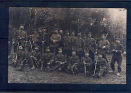 Carte Photo. Soldats. 1914. Carte Partie De Montdauphin. 119 E - Régiments