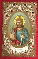 Image Pieuse Religieuse Holy Card Canivet San Enrique Saint Henri - Notre Dame D'Aiguebelle - Signée B. Bédichaud ?? - Devotion Images