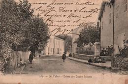 13 /LES FABRES / ENTREE DES QUATRE SAISONS / LACOUR 3691 / RARE - Aubagne