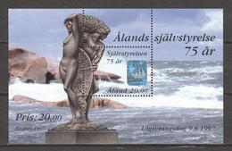 Aland 1997 Mi Block 3 MNH - Aland