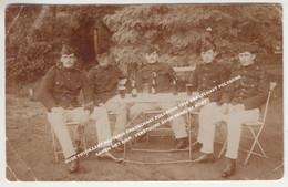 OUDE FOTOKAART MILITARIA BRASSCHAAT POLYGOON 1910 BRASSCHAET POLYGONE / SAMEN MET BIER / VERSTUURD DOOR HENRI DE KORT - Brasschaat