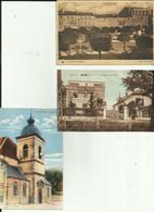 55 - Meuse  - Lot De 3 Cartes -  Saint Mihiel - Ligny En Barrois - Void - église - Station électrique - Place Nationale - Saint Mihiel
