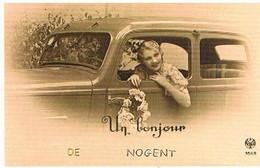 52  UN  BONJOUR   DE  NOGENT  CPM  TBE   532 - Nogent-en-Bassigny